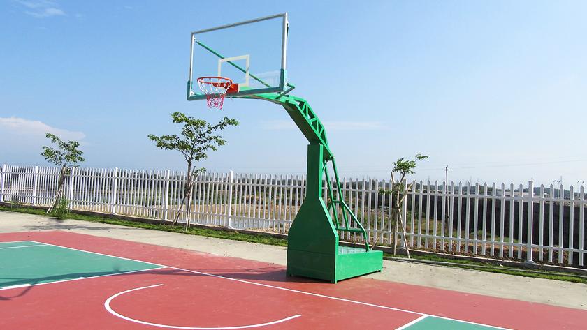 篮球架安装方案