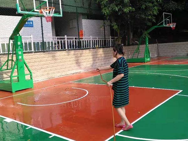 赤水市香樟林公园篮球场